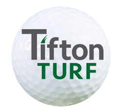 tifton turf logo on golf ball