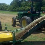 Stripping Koro Tifton Turf Farms