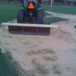 tifton turf athletics top dressing tractor