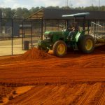laser grade renovation baseball tifton turf farms