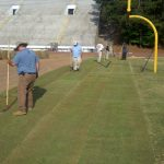 Dekalb Co Sod install football field